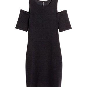 H&M Cold-shoulder Stretch Mini Dress!